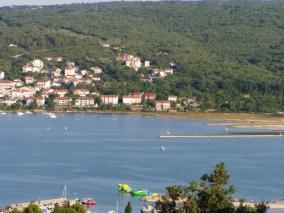 Výhled na záliv u Soline