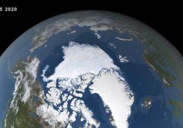 Arktické ledové minimum
