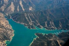 Svatá díra na jezeře Berryessa