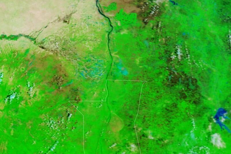 Povodně Súdán 2015