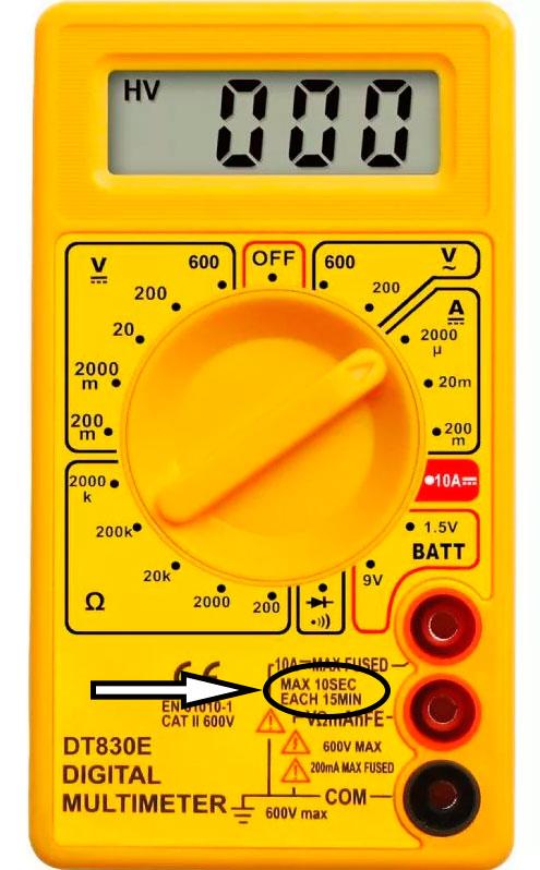 Ποια ρεύματα μπορούν να μετρηθούν με ένα πολύμετρο