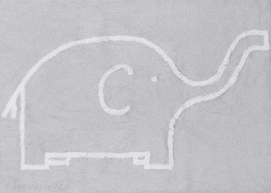 Preproga s slončkom