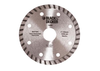 Disco Diamantado Turbo Black&Decker