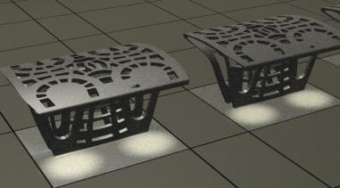 Urban light, det multifunktionelle lys-møbel i ny betonteknologi til byrum