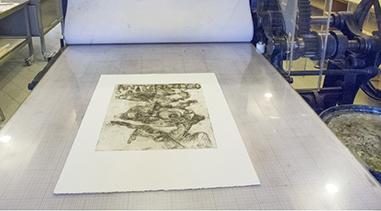 Værker til separatudstilling i Clausens Kunsthandel