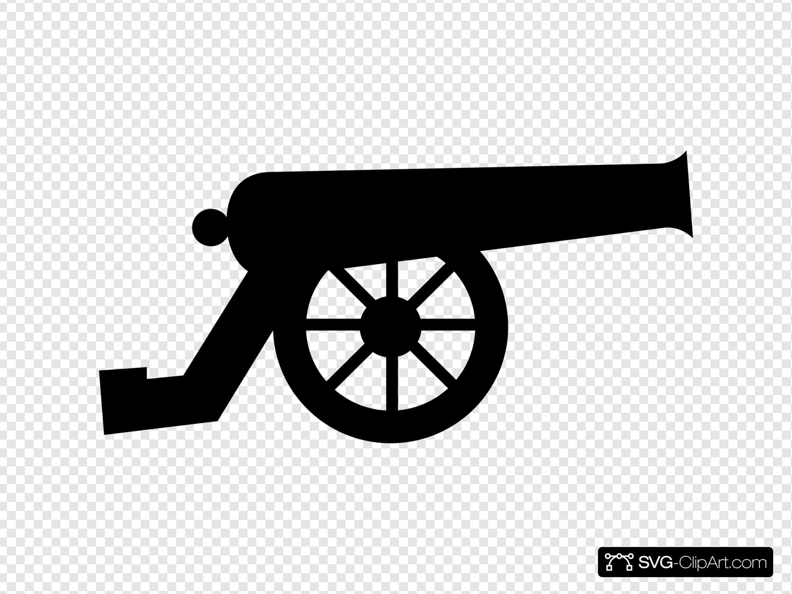 Cannon Clip Art Icon And Svg