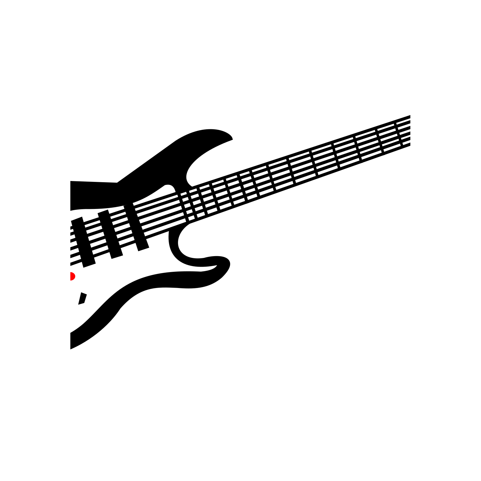 Electric Guitar Svg Vector Electric Guitar Clip Art
