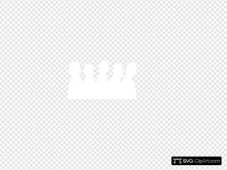 Larger Crowd Svg Vector Larger Crowd Clip Art