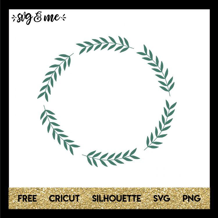 309 Christmas Leaves Svg