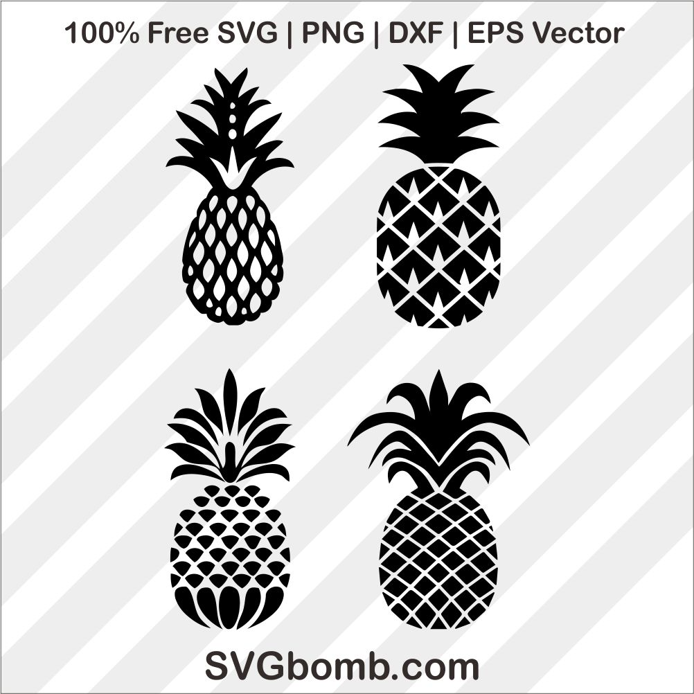 Download Pineapple SVG Cut File | SVGBOMB