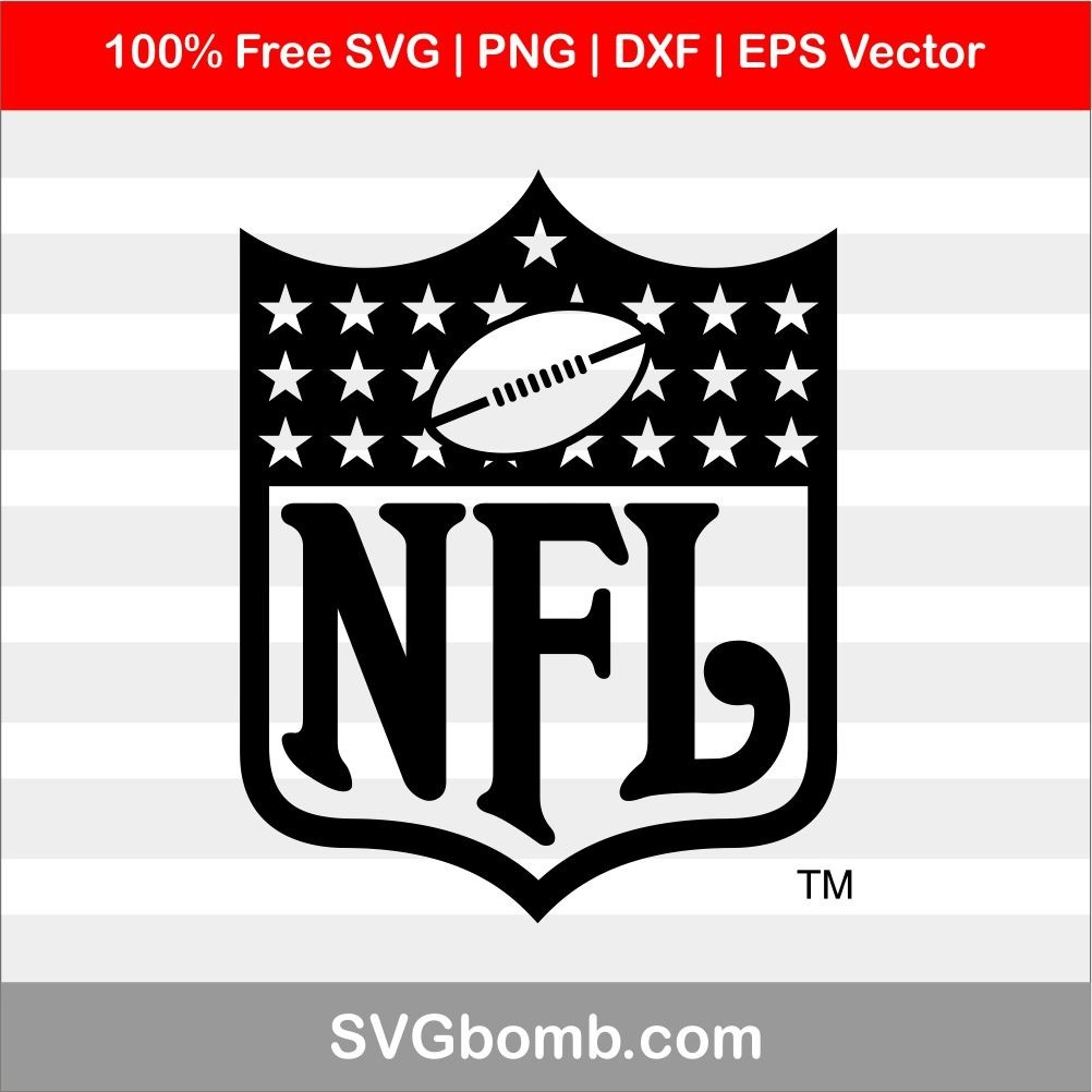 Download NFL Logo Cut File SVG | SVGbomb.com