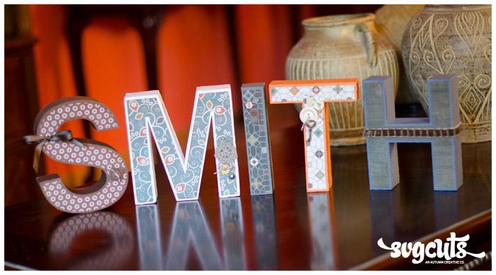 3D Letters SVG Kit  SVGCutscom Blog