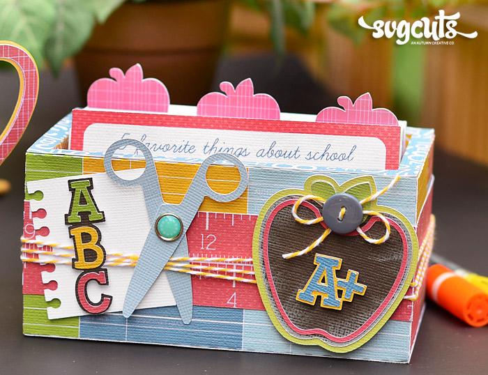 Teachers Index Card Box And Gift Mug By Brigit Mann