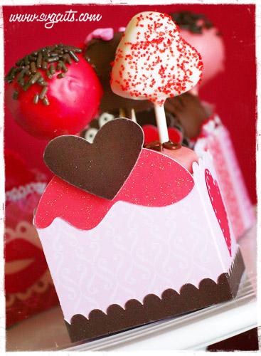 Tamaras Corner Valentine Cake Ball Boxes Blog
