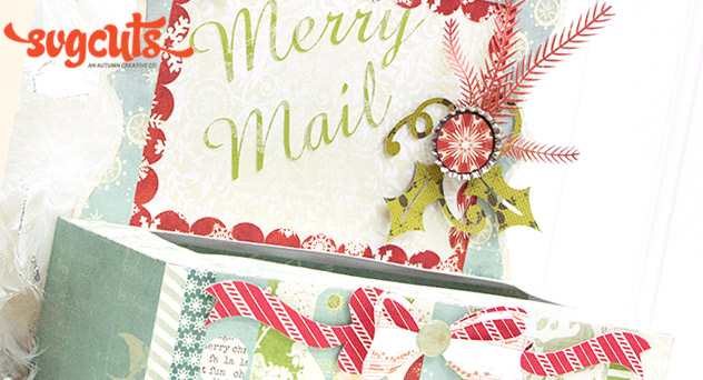 Merry Mail Card Holder By Kathy Helton Blog