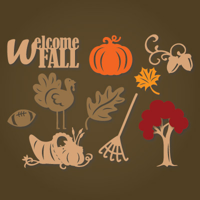 Download Autumn Elements SVG Collection : SVG Files for Cricut ...