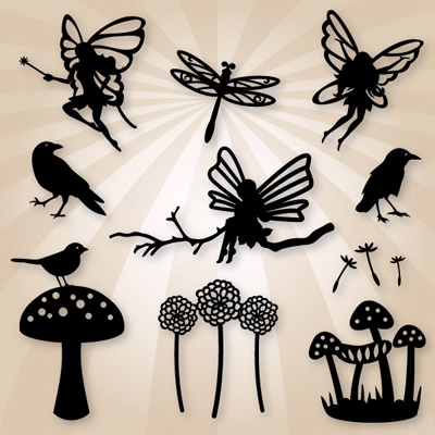 Download Woodland Fairies SVG Collection Woodland Fairies SVG ...