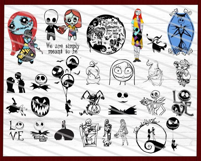 Download Nightmare Before Christmas Font Svg Files - Free Writing ...