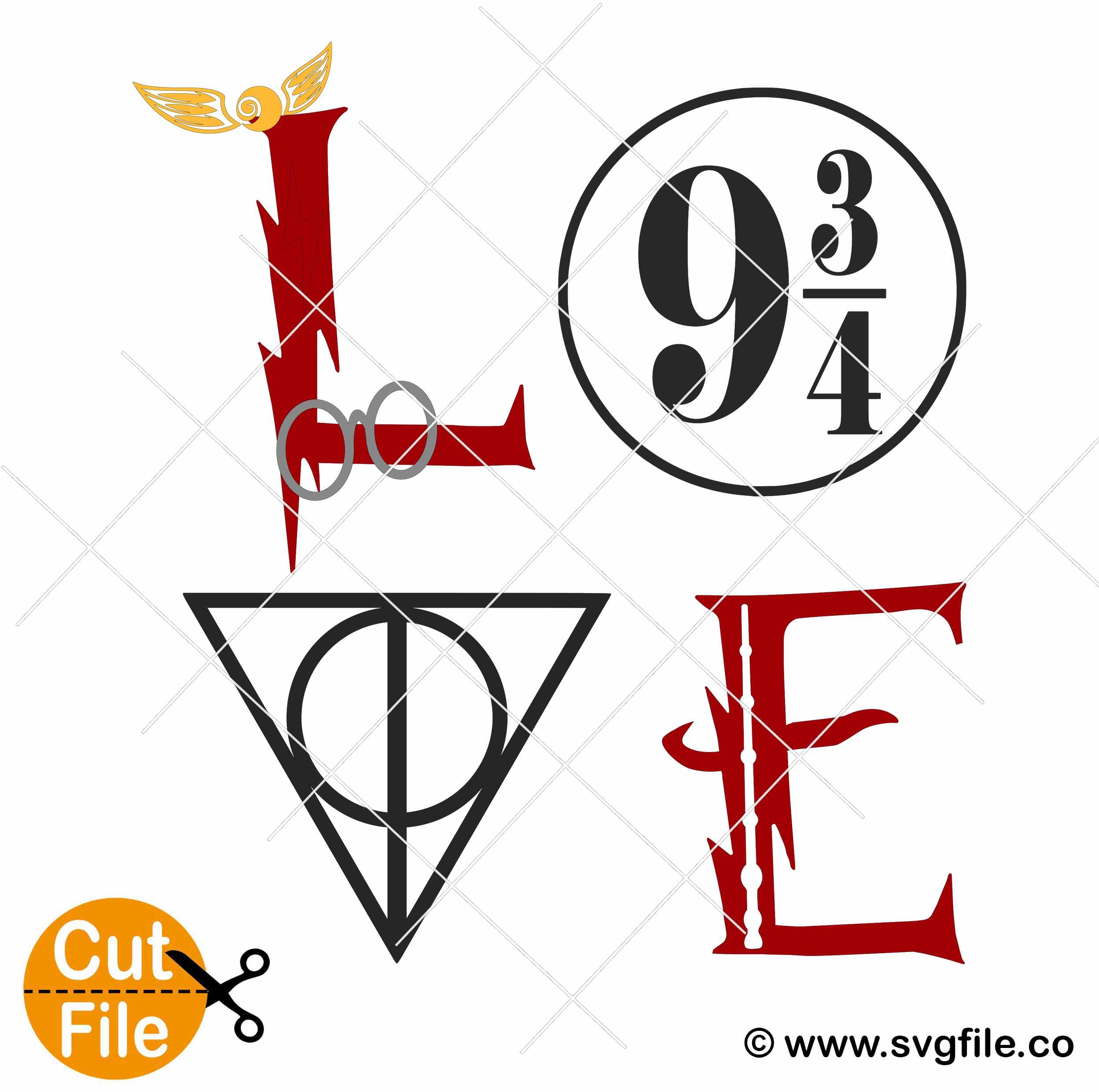 Download Harry Potter Love svg 002 - Svgfile.co - 0.99 Cent SVG ...