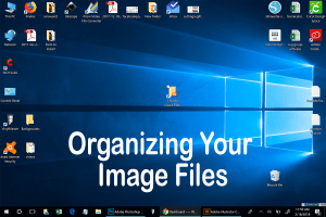 how to organize your image files