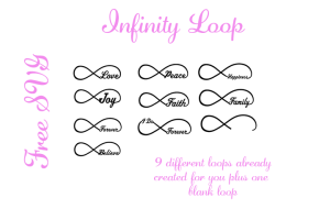 Infinity Free SVG File