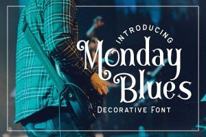 Monday Blues Free Font