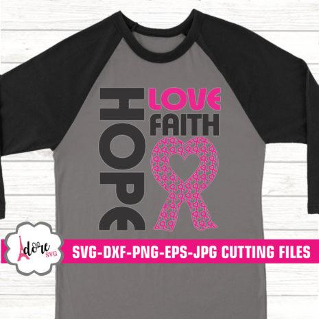 Download Hope love faith cancer svg, awareness SVG,breast cancer ...