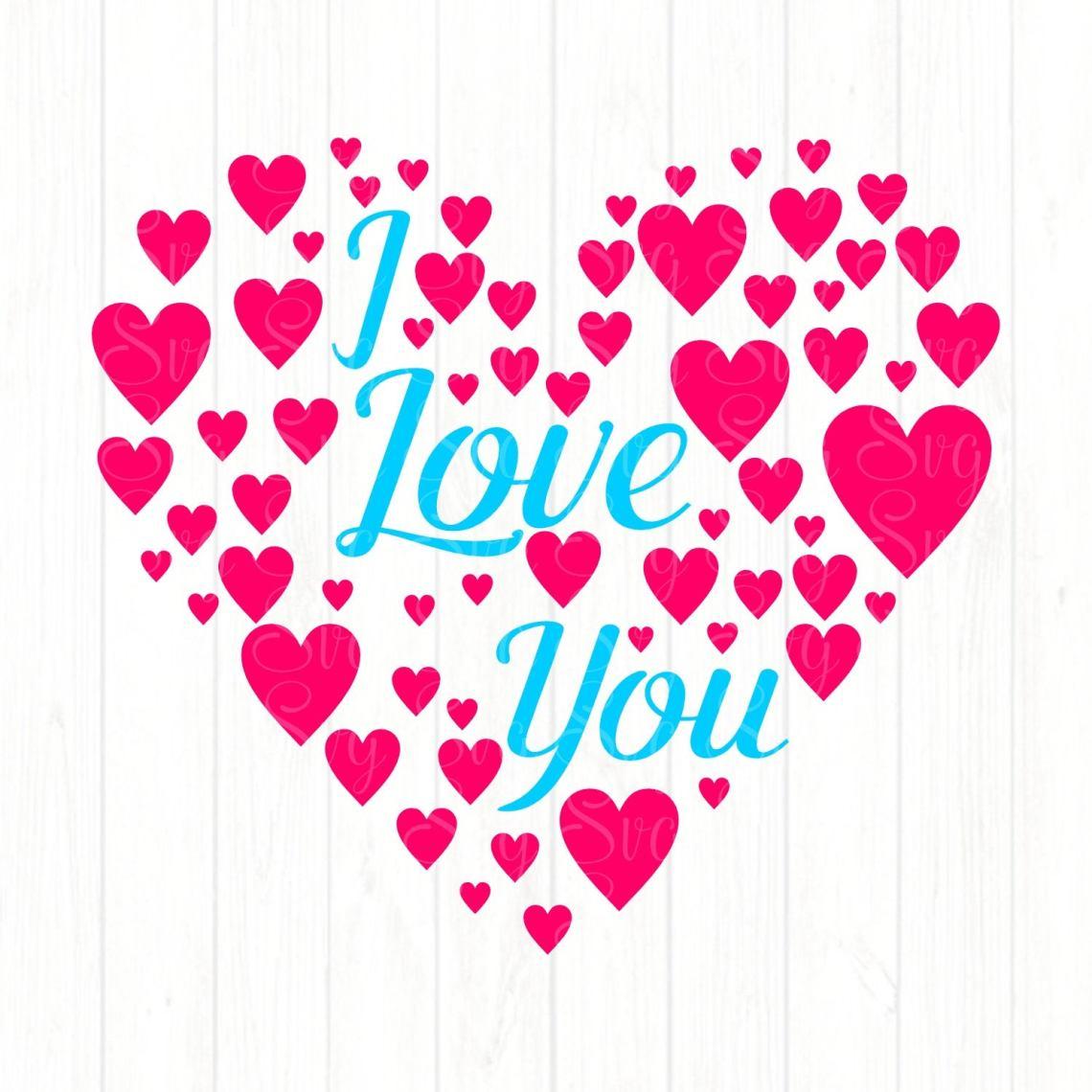Download I Love You Hearts svg,Valentine svg,Couples svg,Love svg ...