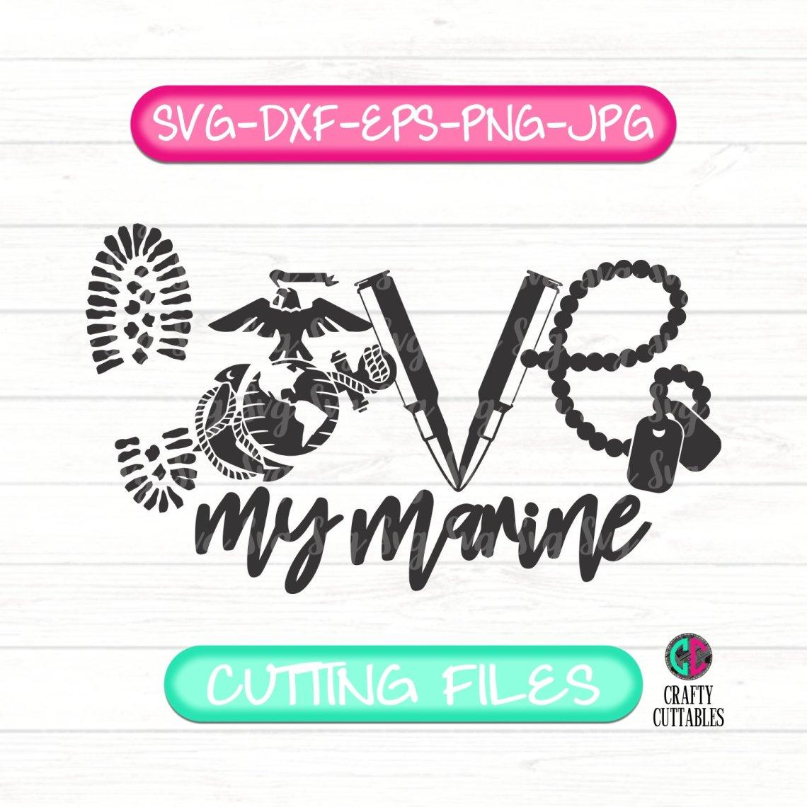 Download Love My Marine Svg,America svg,Marine SVG,Veterans Day svg ...