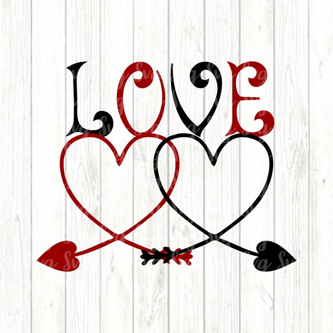 Download svg Love Intertwined,Valentine svg,Love svg,Valentine ...