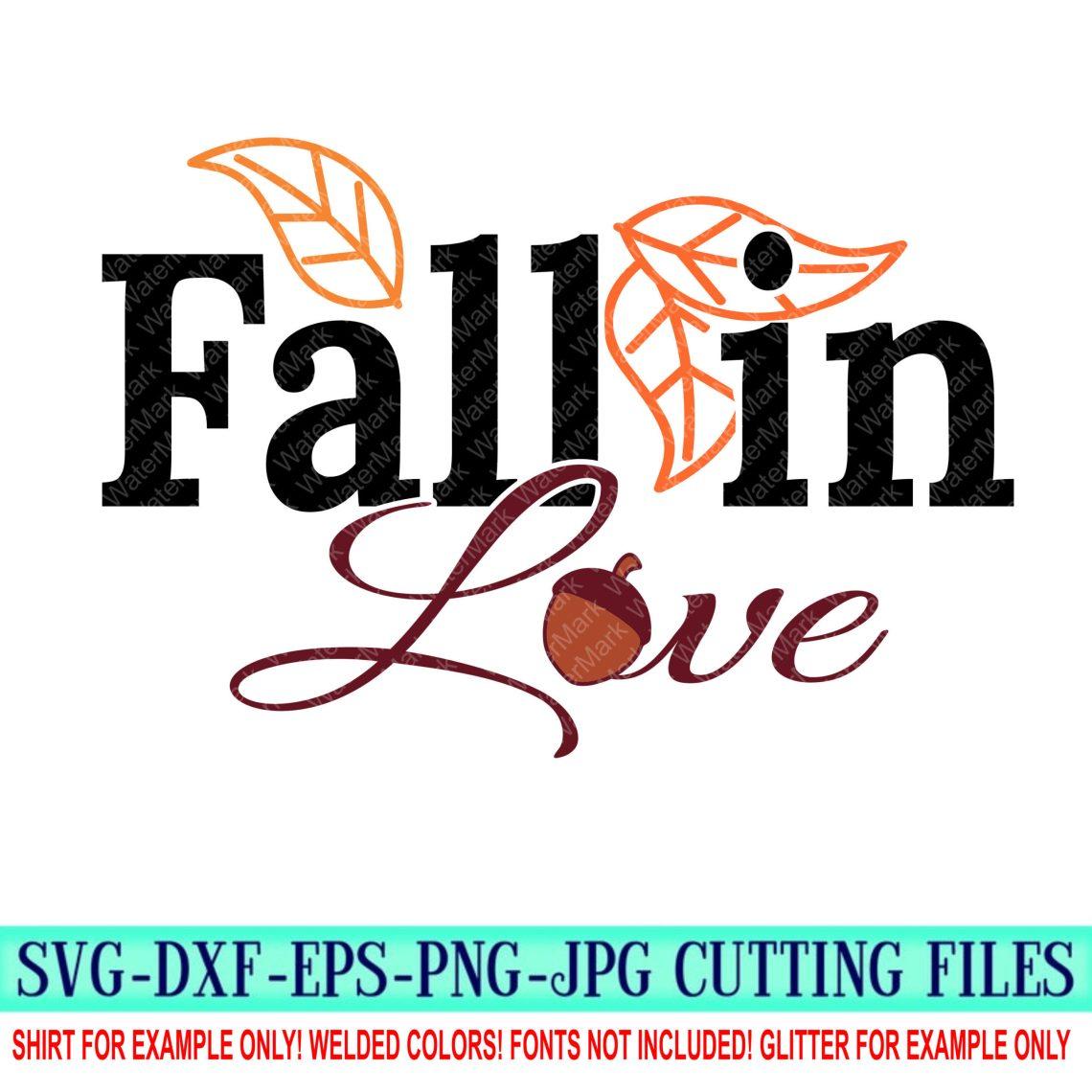 Download fall in love Svg, fall svg, autumn Svg, fall Cut Files ...