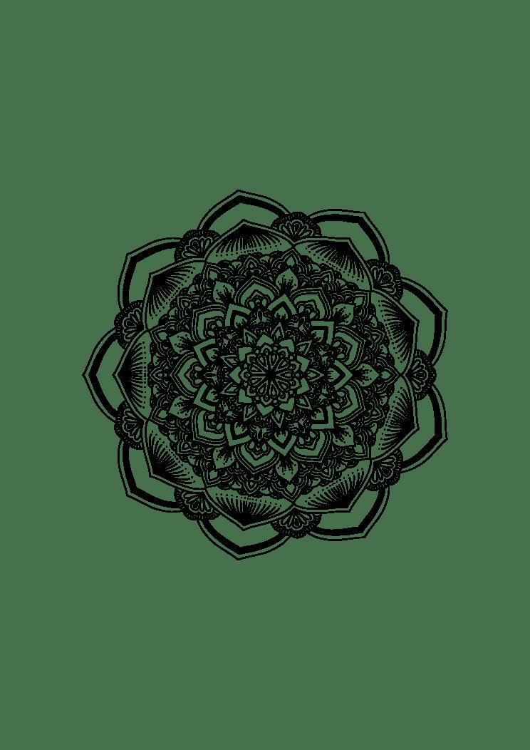 Mandala Svg Free Download : mandala, download, Mandala, Zentangle, SvgHeart.com