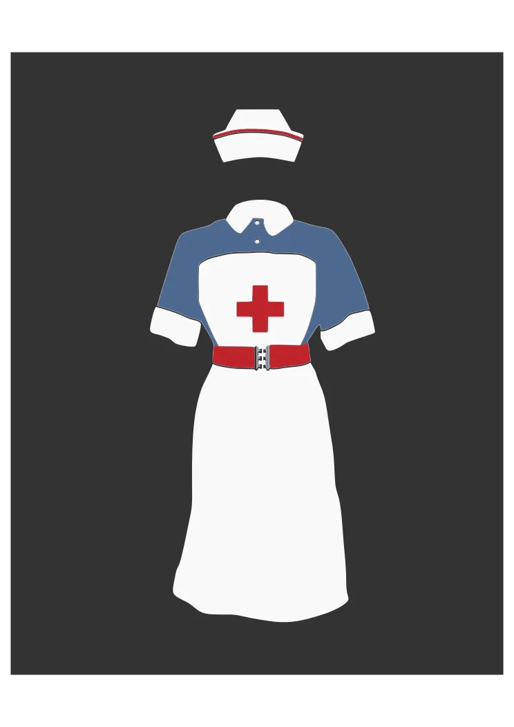 Download Nurse Uniform Free SVG File - SvgHeart.com