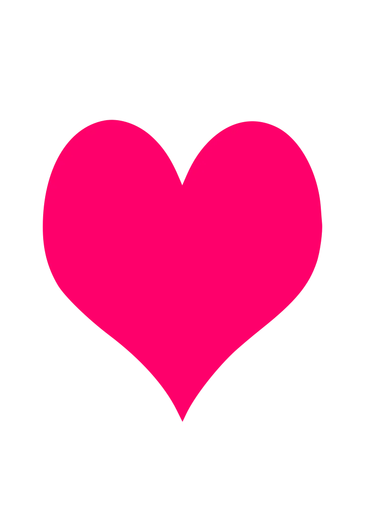 Download Simple Love Heart Free SVG File - SvgHeart.com