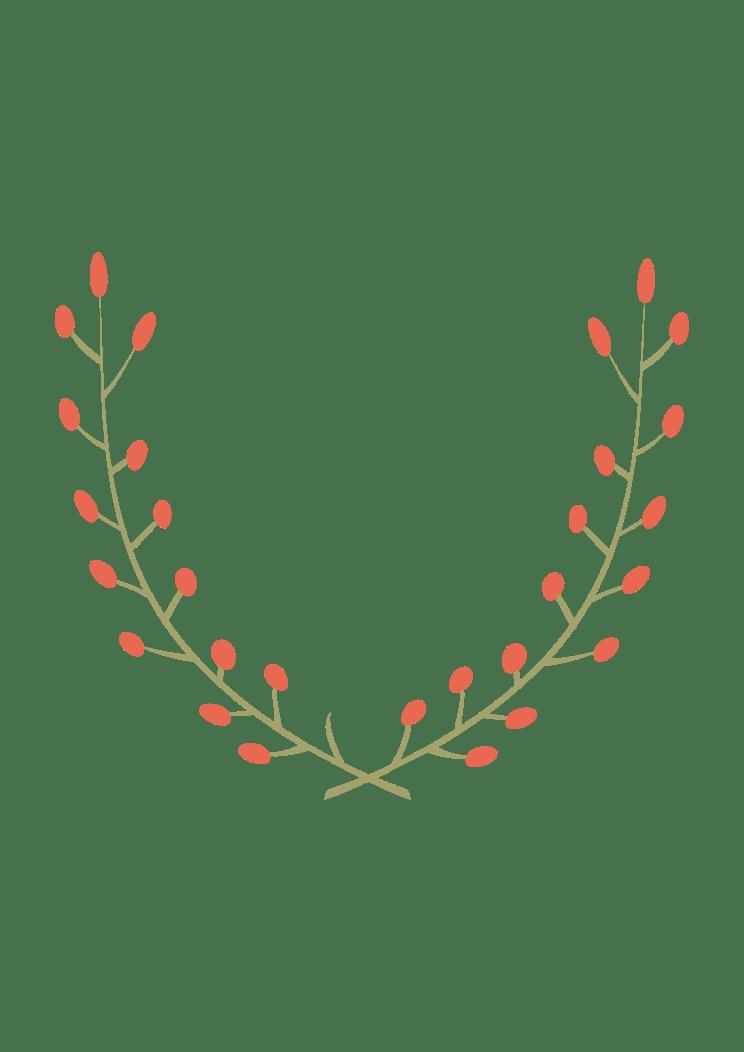 Half Wreath Svg Free : wreath, Wreath, SvgHeart.com