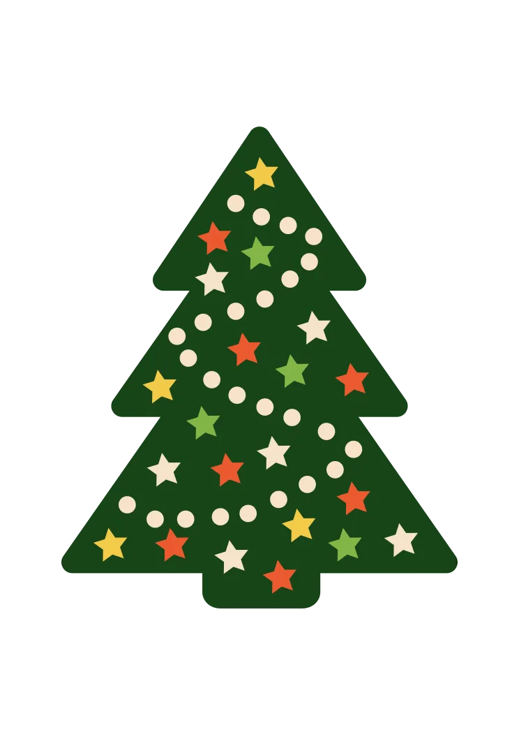 Christmas Tree Clipart Free : christmas, clipart, Christmas, Clipart, SvgHeart.com