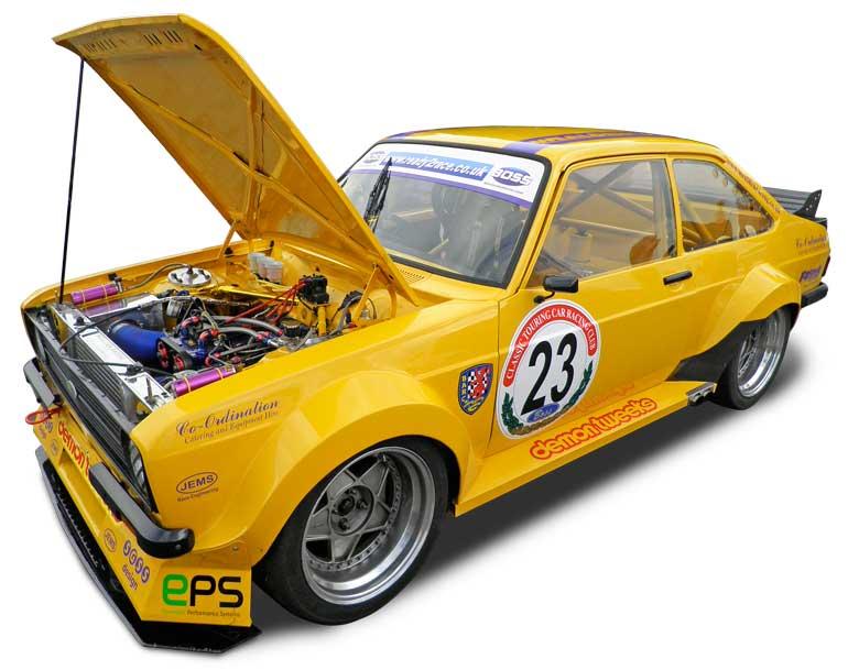 Wealden Racings Ford Escort racing car