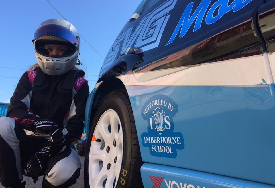 Young driver of a JSCC Citroen Saxo