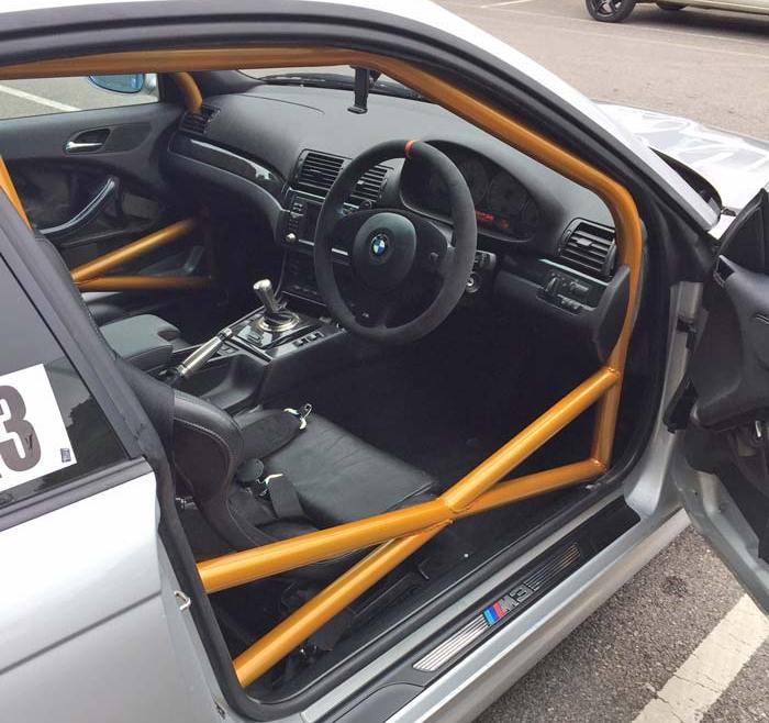 BMW E46 Track Day Car Rollcage