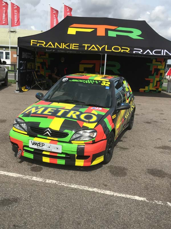 Frankie Taylor JSCC Saxo for sale