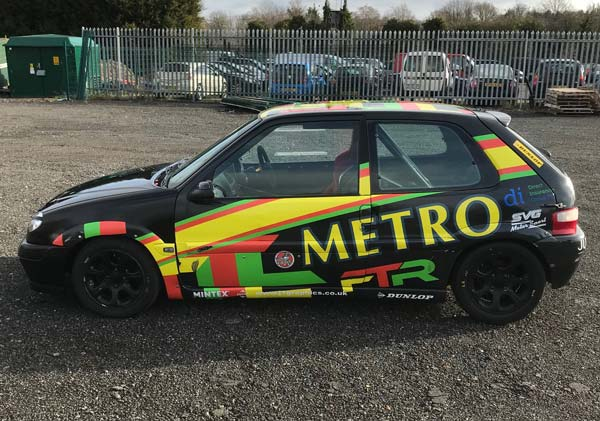 JSCC Saxo Race car For Sale