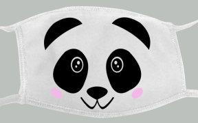 free_panda_face_mask_svg