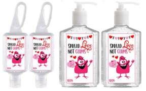 Hand Sanitizer Valentine's Day Gifts