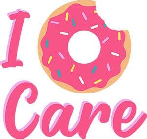 I Donut Care SVG