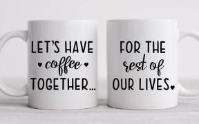 Couples Coffee Mugs SVG