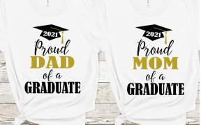 Proud Dad of a Graduate SVG Download