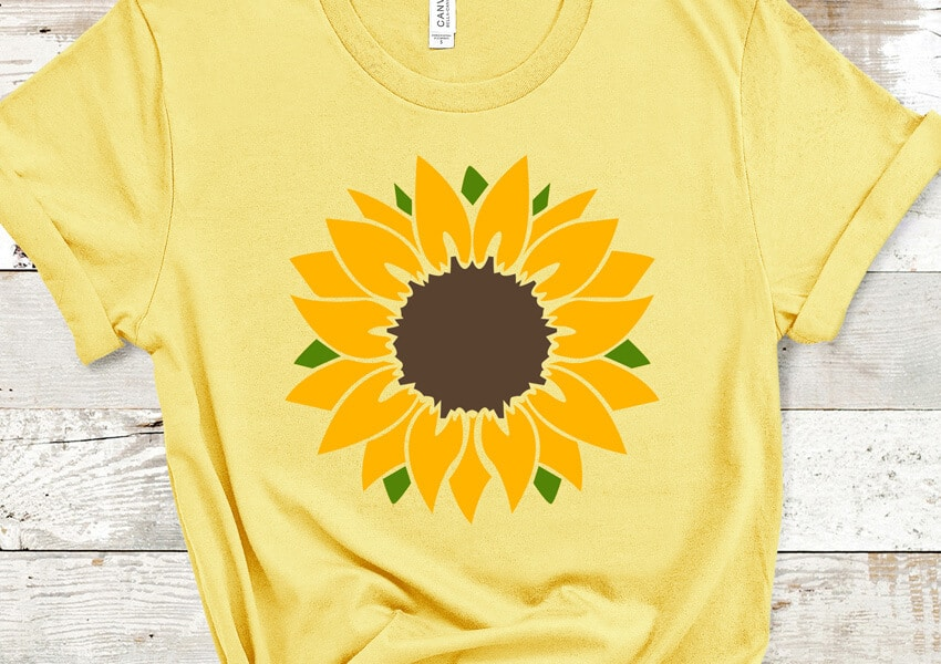 Sunflower SVG File
