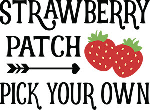 Strawberry Patch SVG Download