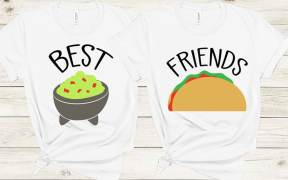 Best Friends Taco and Guacamole SVG File