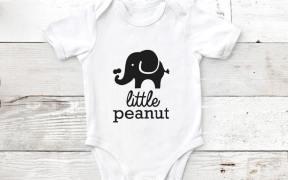 Little Peanut Onesie